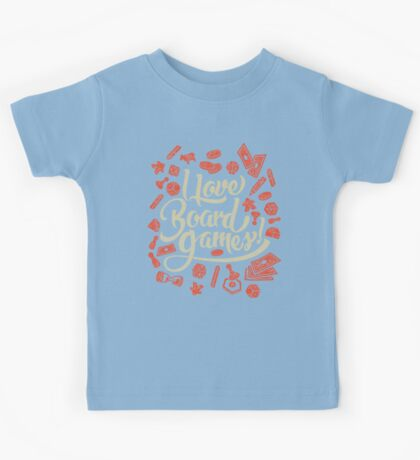 I Love Board Games Kids Clothes