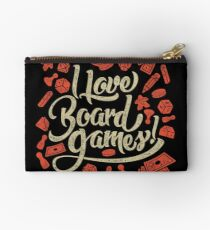 I Love Board Games Studio Pouch