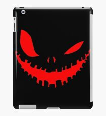 Scary Devil Face for Halloween iPad Case/Skin