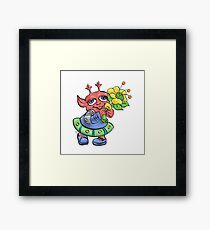 Maggie Martian the Mom Framed Print