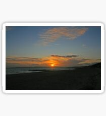 Boscombe Sunset Sticker