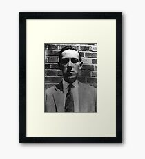 HP LOVECRAFT Framed Print