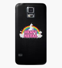 HEAVY METAL! (Funny Unicorn / Rainbow Mosh Parody Design) Case/Skin for Samsung Galaxy