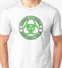 ZOMBIE RESPONSE TEAM round green  T-Shirt
