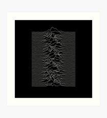 Joy Division - Unknown Pleasures Art Print