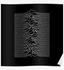 Joy Division - Unknown Pleasures Poster