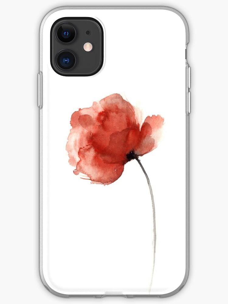 Poppy iPhone 11 case