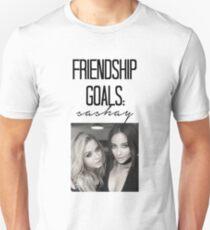 Freundschaftsziele; Tänzeln Slim Fit T-Shirt