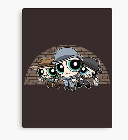 The Whitechapel Boys Canvas Print