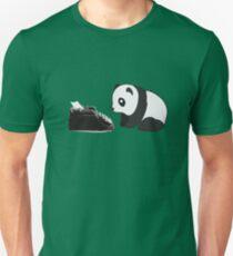 Typewriter Panda Unisex T-Shirt
