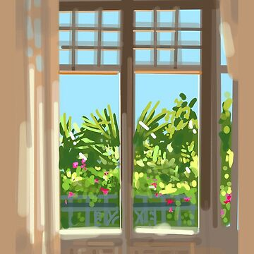 Fenêtre by Eireni