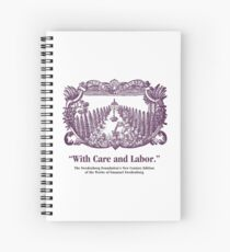 NCE With Care and Labor Spiral Notebook