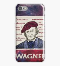 WAGNER iPhone Case/Skin