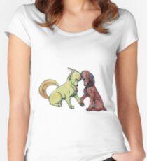 Katniss and Peeta Women's Fitted Scoop T-Shirt