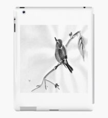 Sumi-E Wren Drawing iPad Case/Skin