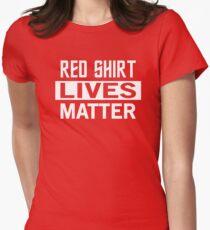 STAR TREK - RED SHIRT LIVES MATTER Women's Fitted T-Shirt