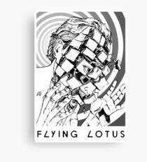 Flying Lotus Dead Man's Tetris Canvas Print