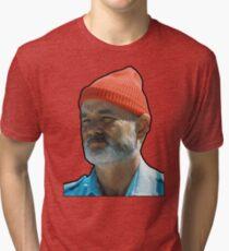 Bill Murray as Steve Sizzou  Tri-blend T-Shirt