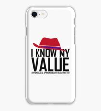 Peggy Carter Value | Agent Carter iPhone Case/Skin