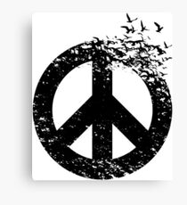 bird  peace Canvas Print