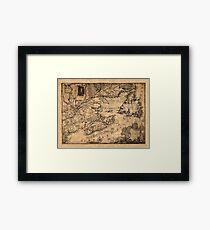 Map Of Nova Scotia 1776 Framed Print