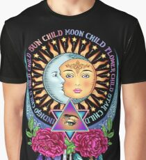 Star Child Wild Child - Full Color Graphic T-Shirt