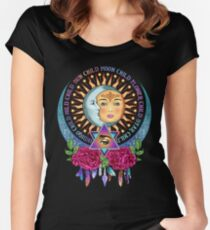 Star Child Wild Child - Full Color Women's Fitted Scoop T-Shirt