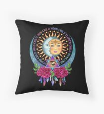 Star Child Wild Child - Full Color Throw Pillow