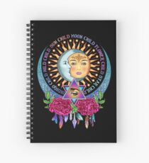 Star Child Wild Child - Full Color Spiral Notebook