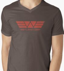 Weyland Corp - Distressed Red T-Shirt