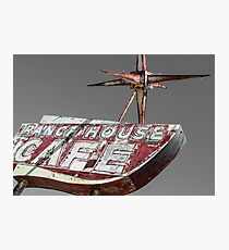 Once Upon a Ranch House Cafe Photographic Print