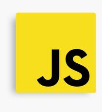 JavaScript logo Canvas Print