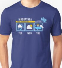 Magrathea 5-Day Forecast Unisex T-Shirt
