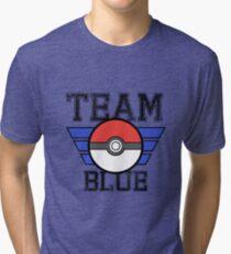 Team BLUE! Tri-blend T-Shirt