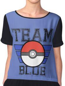 Team BLUE! Chiffon Top
