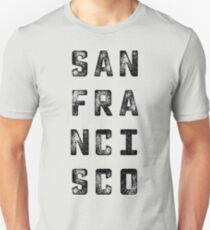 San Fransisco Grungy Type T-Shirt