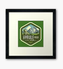 Hyrule National Park Framed Print