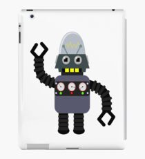 Funny robot iPad Case/Skin