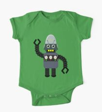 Funny robot One Piece - Short Sleeve