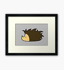 Hedgehog Henry Framed Print