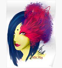 Fabulous Lashes Poster