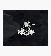 Superhero Art Work Bat Photographic Print