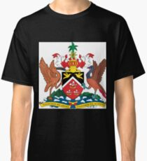 The Coat of Arms of Trinidad and Tobago  Classic T-Shirt