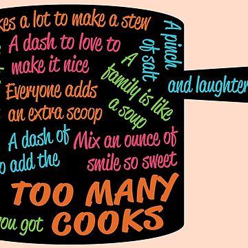 Letra de cancion Too Many Cooks In Pot Shape de emilyolive