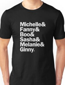 Bunheads - Michelle & Fanny & Boo & Sasha & Melanie & Ginny | Black Unisex T-Shirt