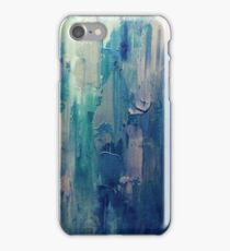 Absract Blue Paint iPhone Case/Skin