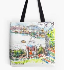 Sydney Harbour from Cockatoo Island Tote Bag