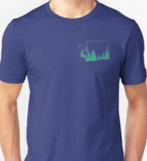 Evergreen State Outline T-Shirt