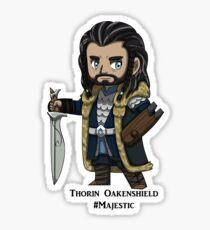 Majestic Thorin Oakenshield Sticker