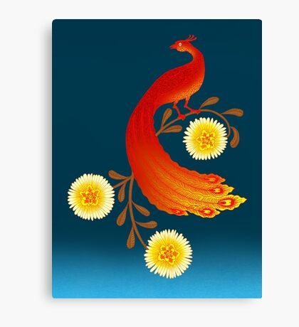 Folklore Firebird Canvas Print